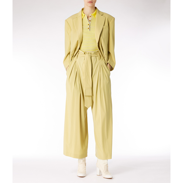 Women Vivienne Westwood PRINCESS JACKET YELLOW Outlet Online