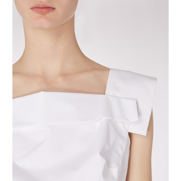 Women Vivienne Westwood WHITE BETTLE TOP Outlet Online