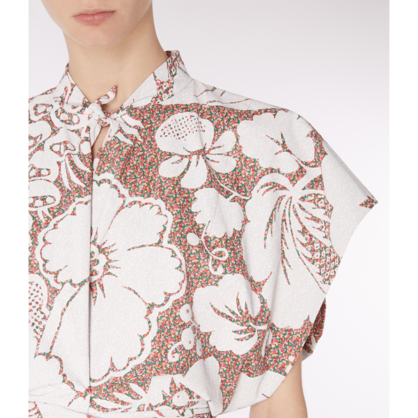 Women Vivienne Westwood BEE BLOUSE WHITE PRINT Outlet Online