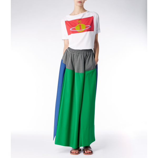 Women Vivienne Westwood GABRIELLA SKIRT GREEN Outlet Online
