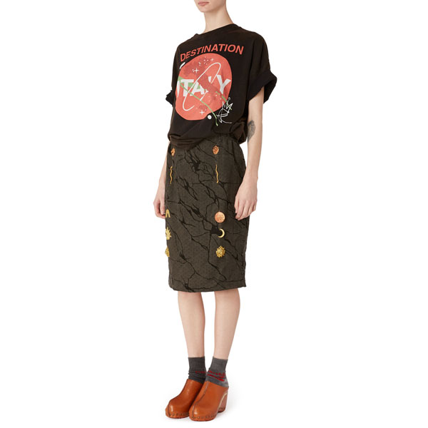 Women Vivienne Westwood ITALY T-SHIRT BLACK Outlet Online