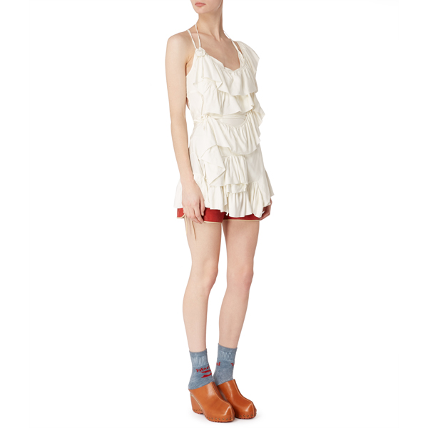 Women Vivienne Westwood TIRRENO TOP OFF-WHITE Outlet Online