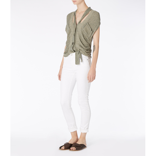 Women Vivienne Westwood WHITE MONROE JEGGINGS Outlet Online