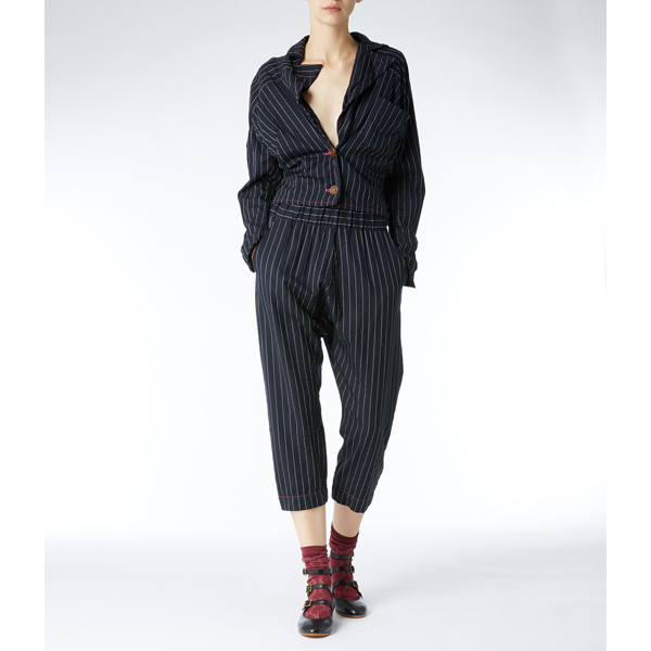 Women Vivienne Westwood O TROUSERS FUCHSIA Outlet Online