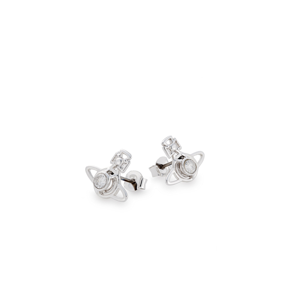 Women Vivienne Westwood NORA EARRINGS WHITE Outlet Online