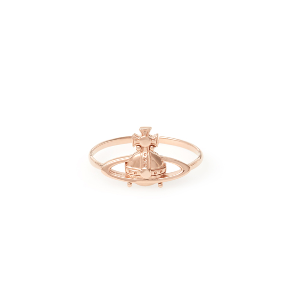Women Vivienne Westwood SUZIE METAL RING PINK GOLD Outlet Online
