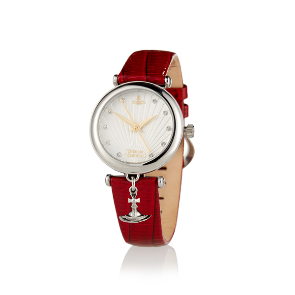 Women Vivienne Westwood RED TRAFALGAR WATCH Outlet Online