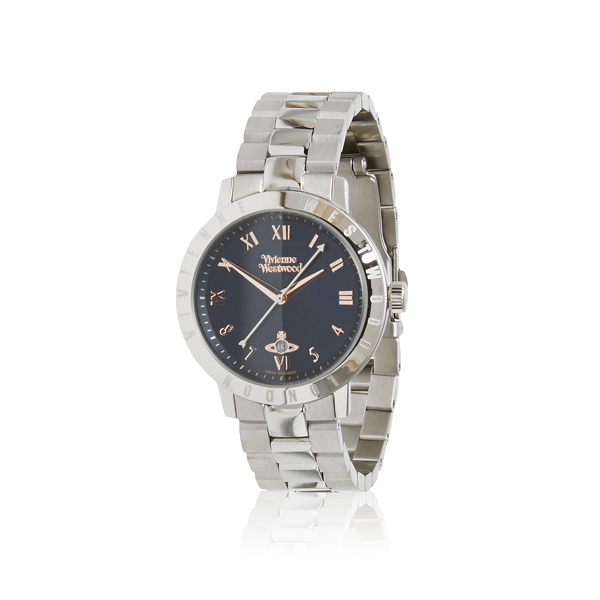 Women Vivienne Westwood BLOOMSBURY WATCH BLUE Outlet Online