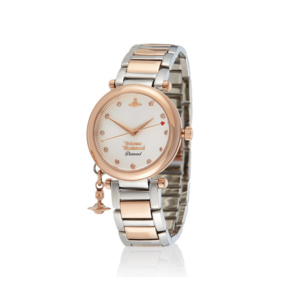 Women Vivienne Westwood ORB DIAMOND WATCH Outlet Online