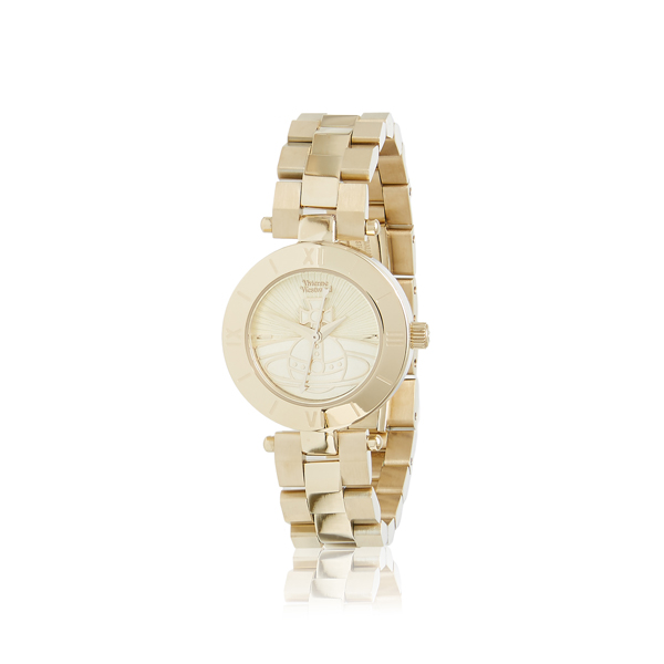 Women Vivienne Westwood WESTBOURNE ORB WATCH GOLD Outlet Online