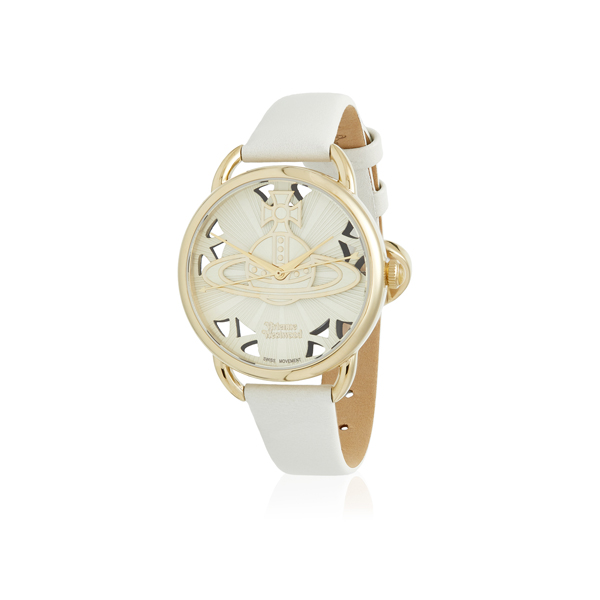 Women Vivienne Westwood WHITE LEADENHALL WATCH Outlet Online