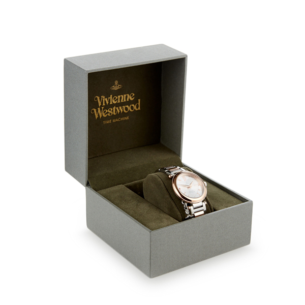 Women Vivienne Westwood SILVER/GOLD MOTHER ORB WATCH Outlet Online